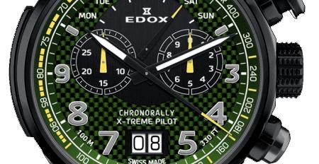 Edox watch fragment