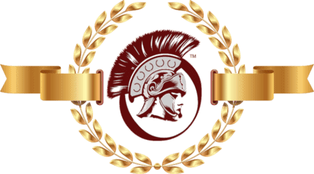 Praetorian Secure Logo with Roman wreath