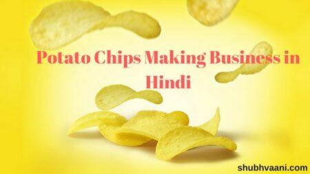 potato chips making business in hindi