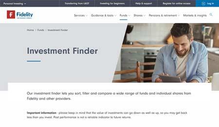 Fidelity Investment Finder