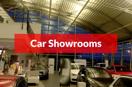 Airius Fans For Car Showrooms