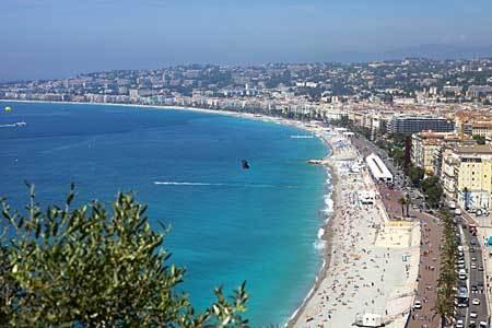 Nice City in France