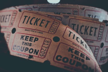 ticket image- hosting an event
