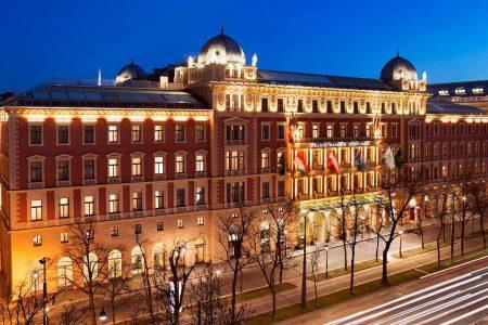 Nächtigungsplus Wien April Die Wiener Hotels – hier das Palais Hansen Kempinski – waren im diesjährigen April trotz eines großen Plus' zum Vorjahr nur minimal ausgelastet.