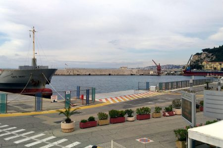 View from the Harbour Master's Office (Port of Nice)