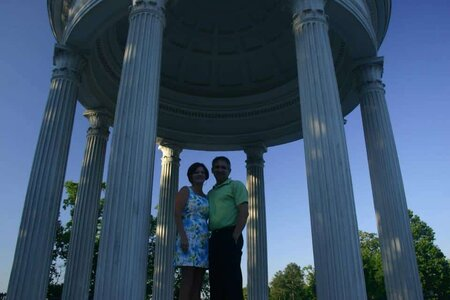 Engagement, 2nd Engagement, Temple of Sibyl, Vestavia Alabama