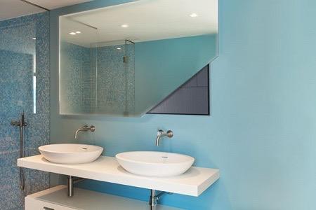 Spiegelverwarming: verwarmde badkamerspiegel