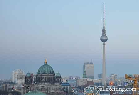 TV tower Berlin - Fernsehturm