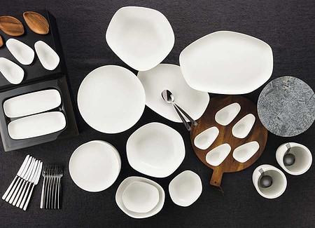 Robustes Porzellan für Buffets Gastronomie