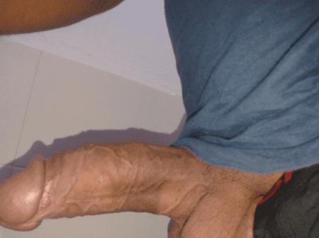 dick picture taken from a left side
