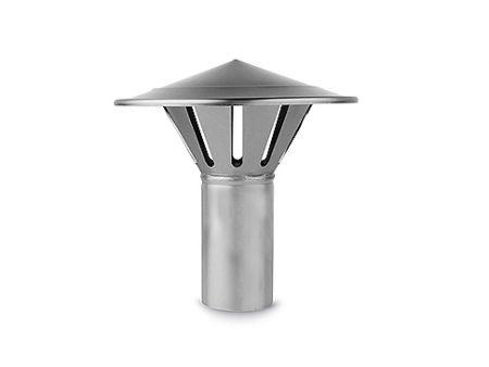 Metalowy wywietrznik, kominek wentylacyjny