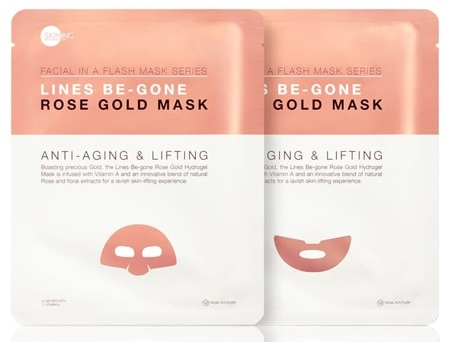 Skin Inc. Lines Be-Gone Rose Gold Mask | 40plusstyle.com