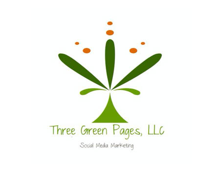 Three Green Pages Logo