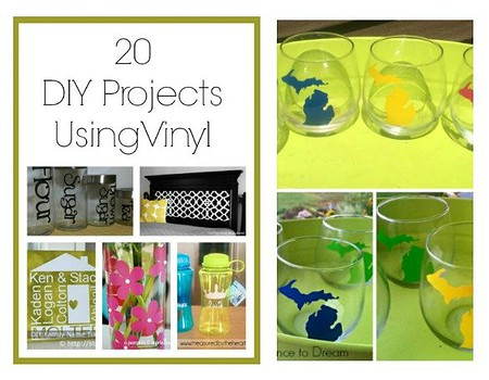 20 DIY Projects using Vinyl