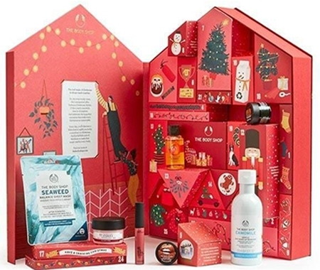 Beauty advent calendars - The Body Shop Make It Real Together Big Advent Calendar | 40plusstyle.com