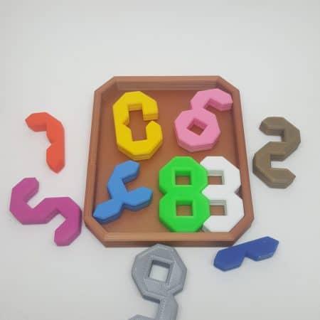 Puzzle 10 Dígitos