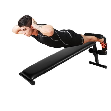 back extension on ab bench