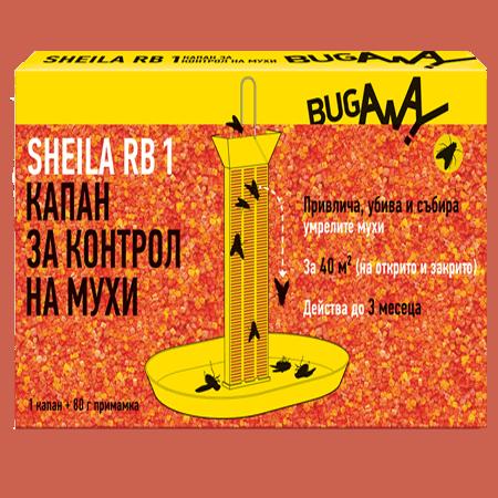 BugAway Шейла РБ 1 (80 гр) – против мухи