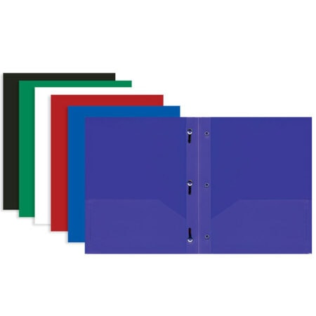 Cheap 2 Pocket Folders with Prongs