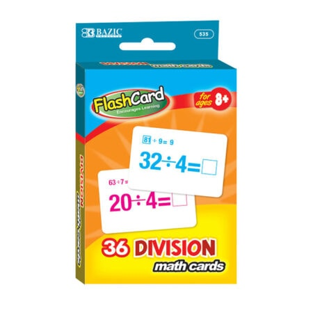 Cheap Division Flash Cards