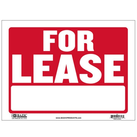 Cheap Plastic For Lease Signs