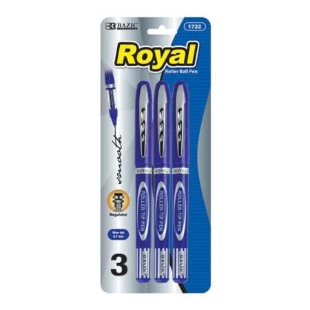 3 pack roller ball pens