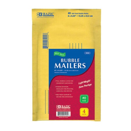 Cheap bubble mailers self seal