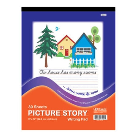 Cheap picture story pads