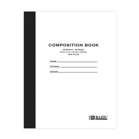 Cheap Composition Book