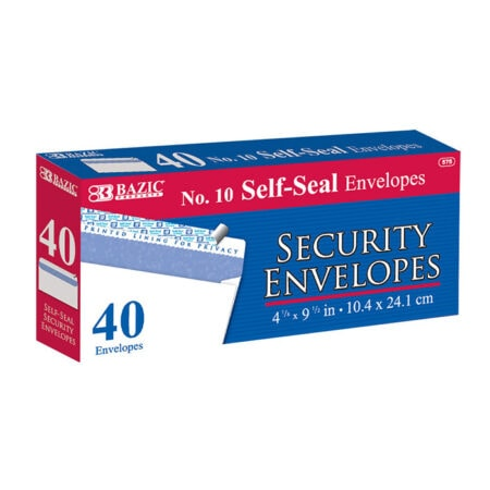 Cheap self seal security envelopes