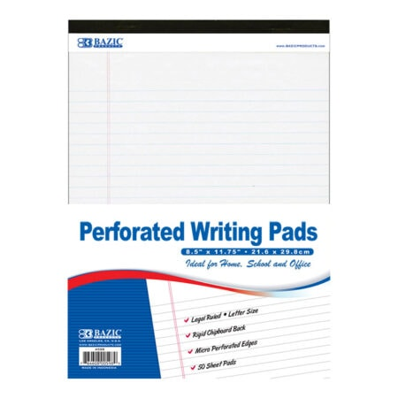Cheap letter size pads