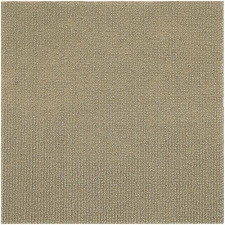 Tan-Beige peel and stick carpet tiles