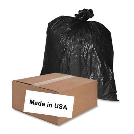 wholesale black trash bags