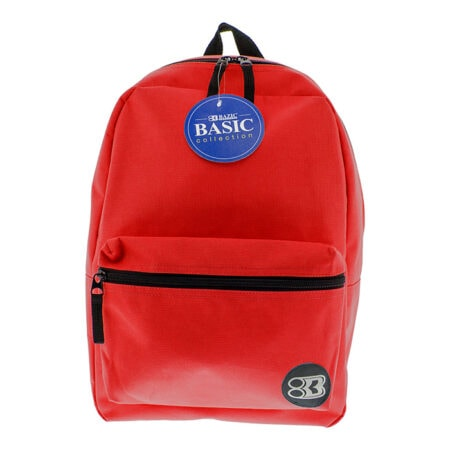"""16"""" red backpack"""