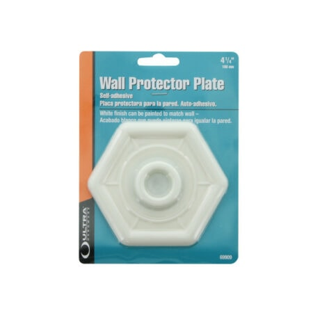 wall protector plate-hexagon 4 inch