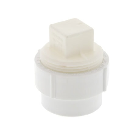"""PVC Cleanout Adapter with Plug 1-1/2"""""""