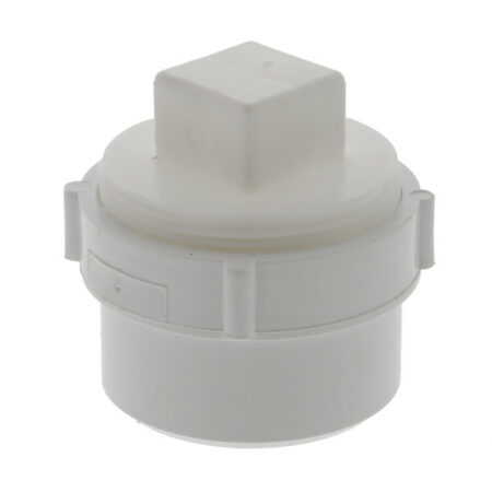 """PVC Cleanout Adapter with Plug 4"""""""