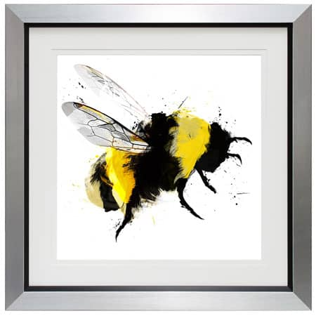 Scruffy Bumblebee III framed print from Complete Colour