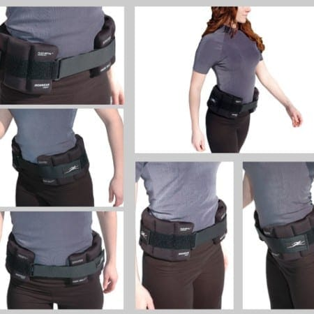 Weight belt for osteoporosis