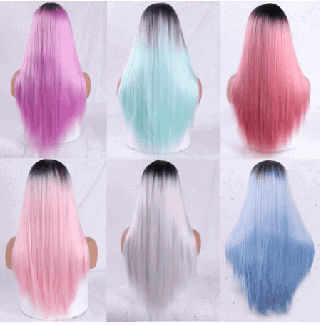 top long synthetic wig aliexpress
