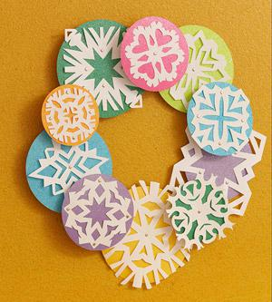 Winter Snowflake Classroom Decoration and Kids Craft