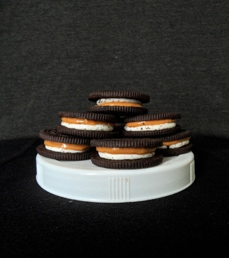 Pile of Chocolate Sandwich Cookies