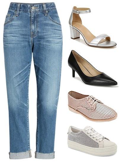Boyfriend style pants | 40plusstyle.com