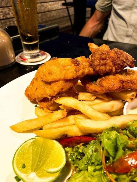 Fish & Chips at The Fishmarket