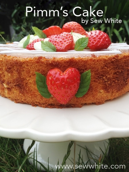 Pimm's Cake recipe Sew White 7