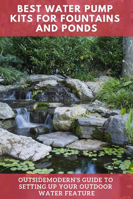 best waterfall pump fountain garden pond