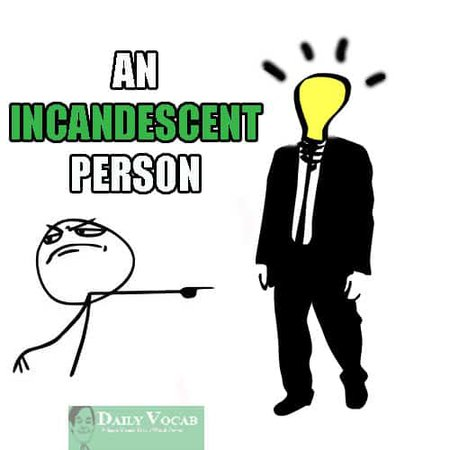 incandescent meaning