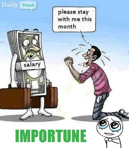 importune Meaning in Hindi with Picture Dictionary