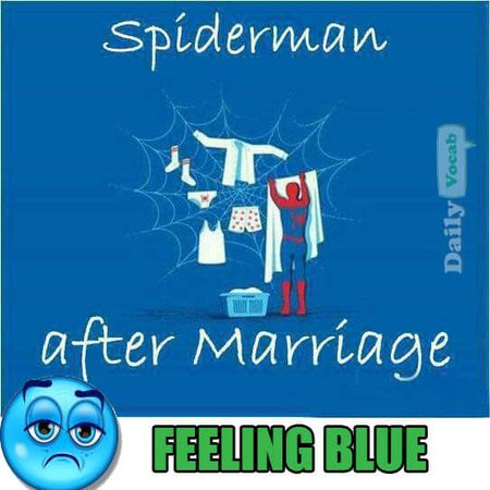 feeling blue meaning with image