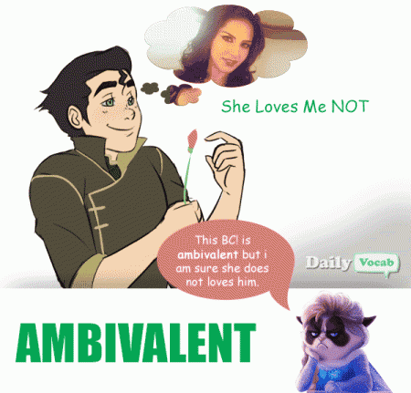 ambivalent English Hindi dictionary with picture
